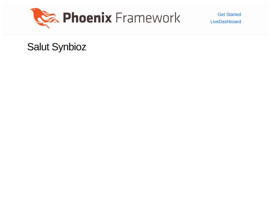 L'application salut Synbioz