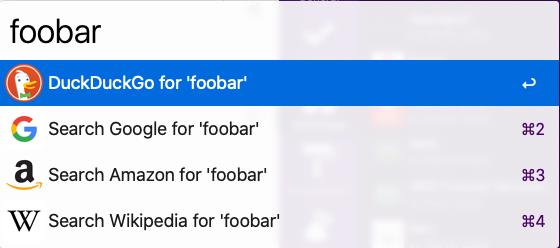 Recherche dans un moteur de recherche